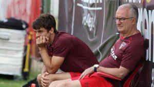 São Paulo treina no CT do Inter e Dorival já estuda mudanças no time