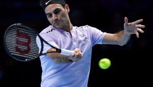 Tênis ATP Finals Roger Federer