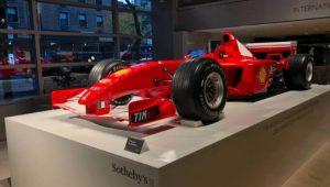 Ferrari usada por Schumacher no GP de Mônaco é leiloada por US$ 7,5 milhões
