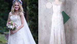 Fiorella Mattheis vende vestido de casamento por R$14 mil na internet