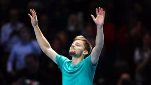 Goffin surpreende, elimina Federer e decide título do ATP Finals