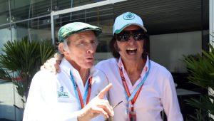 Fórmula 1 GP do Brasil Jackie Stewart Emerson Fittipaldi