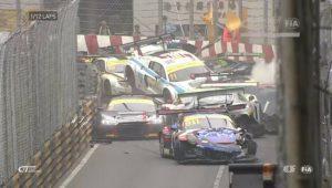Lucas Di Grassi se envolve em engavetamento com 12 carros durante corrida em Macau