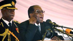 Em carta ao Parlamento, presidente do Zimbábue, Robert Mugabe, renuncia