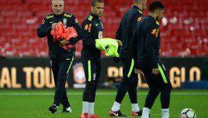 Futebol Amistoso Brasil Inglaterra Treino