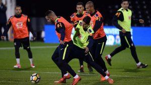 Futebol Seleção Brasileira Treinamento