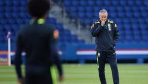 Futebol Seleção Brasileira Treino Tite