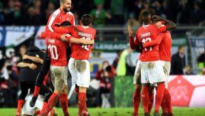Futebol Eliminatórias Copa do Mundo Suíça Irlanda do Norte