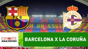 Barcelona x Deportivo La Coruña: acompanhe o jogo ao vivo na Jovem Pan