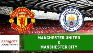 Manchester United x Manchester City: acompanhe o jogo ao vivo na Jovem Pan