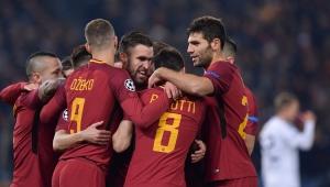 Futebol Liga dos Campeões Roma Qarabag