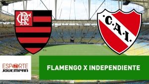 Flamengo x Independiente: acompanhe o jogo ao vivo na Jovem Pan