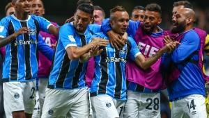 Com gol na prorrogação, Grêmio bate Pachuca e vai à final do Mundial de Clubes