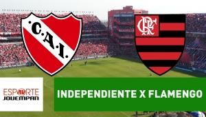 Independiente x Flamengo: acompanhe o jogo ao vivo na Jovem Pan