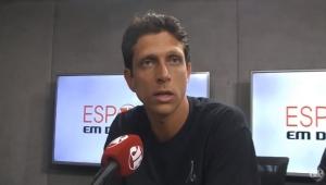 """""""É muito fácil ex-tenista criticar demais e não fazer nada"""", desabafa Melo"""