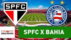 São Paulo x Bahia: acompanhe o jogo ao vivo na Jovem Pan