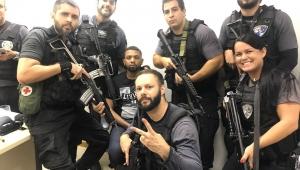 Traficante na cadeia: policiais podem tirar selfies com presos?
