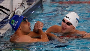 Natação Mundial Paralímpico André Brasil