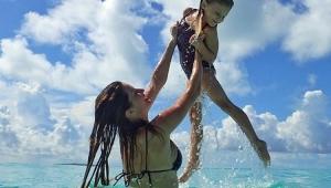 """Gisele Bündchen se declara para a filha em aniversário: """"raio de sol"""""""