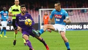 Napoli empata com a Fiorentina em casa e perde chance de assumir a liderança