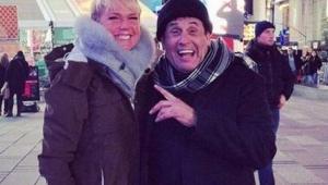Xuxa e Sérgio Mallandro fazem encontro nostálgico em Nova York