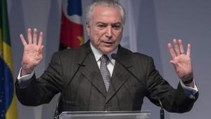 Temer passou por intervenção cirúrgica nesta tarde, informa Planalto