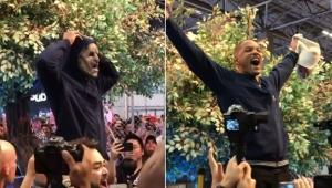 De máscara, Will Smith faz aparição surpresa no meio da CCXP