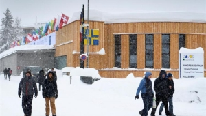Via de acesso a Davos está interrompida por risco de avalanche