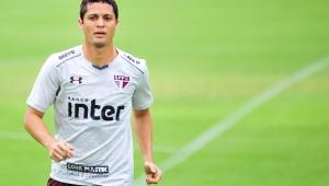 Anderson Martins faz dupla de zaga com Rodrigo Caio em treino do São Paulo