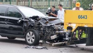 Acidente entre 8 veículos deixa 3 feridos na Marginal do Pinheiros