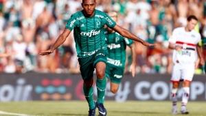 Com gol de Borja, Palmeiras bate o Botafogo e chega a segunda vitória no Paulistão