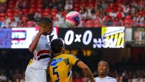 São Paulo fica no empate sem gols com o Novorizontino e torcida vaia