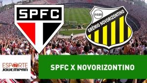São Paulo x Novorizontino: acompanhe o jogo ao vivo na Jovem Pan