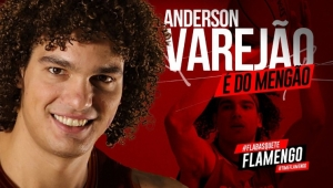 Varejão assina por 20 meses e é oficializado como reforço do Flamengo