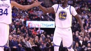 Na volta de Curry, Warriors segura reação do Raptors para vencer mais uma na NBA