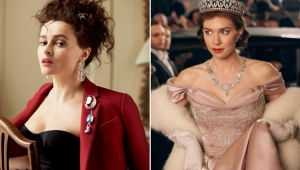 """The Crown"": Helena Bonham Carter é confirmada como a nova princesa Margaret"