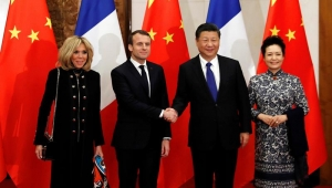 Na China, Macron busca parceria sobre clima e obras na África