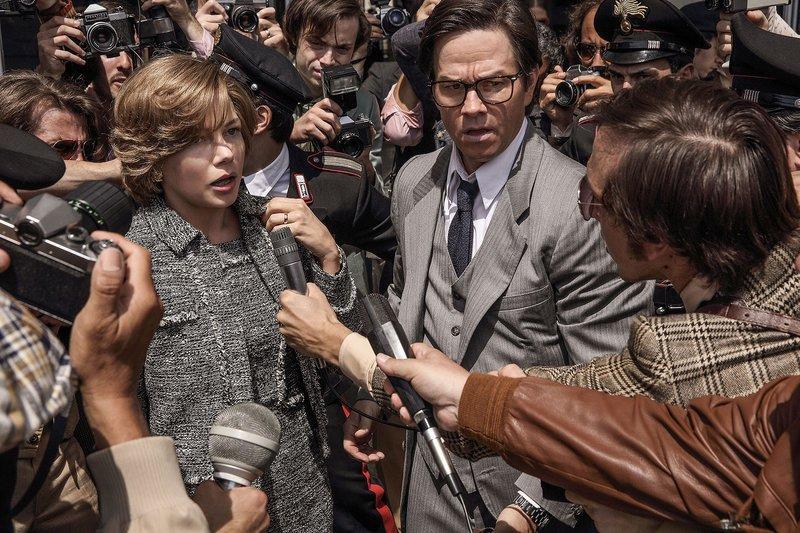 Michelle Williams e Mark Wahlberg