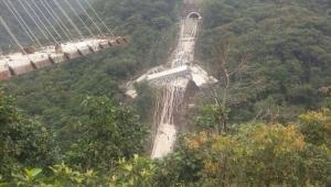 Desabamento de ponte em construção na Colômbia deixa nove mortos