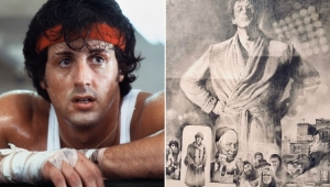 """Sylvester Stallone revela 1º pôster de """"Rocky"""" 42 anos após estreia do filme"""