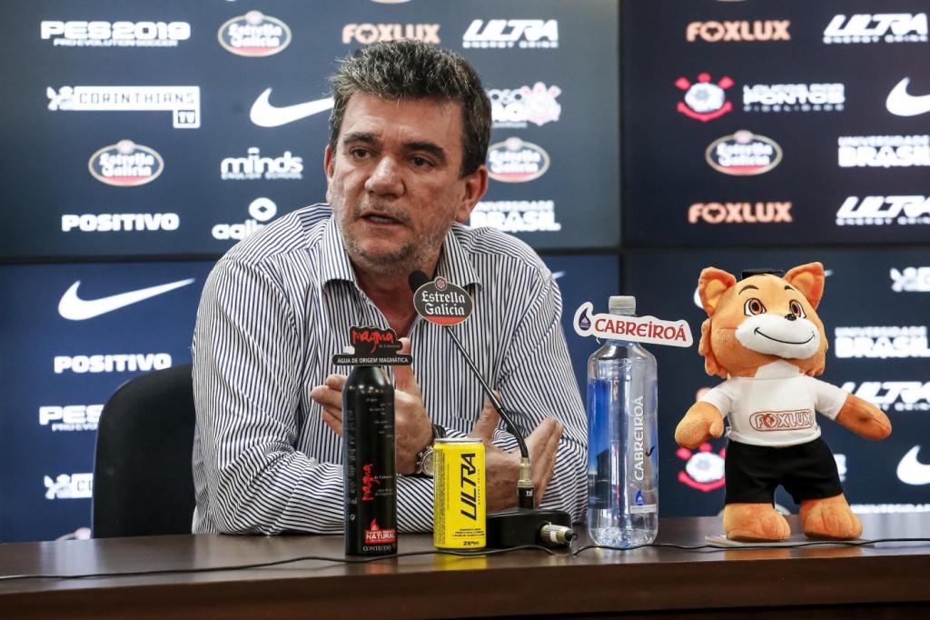 """Em entrevista coletiva, Andrés afirma: """"Não vamos perder o estádio"""""""